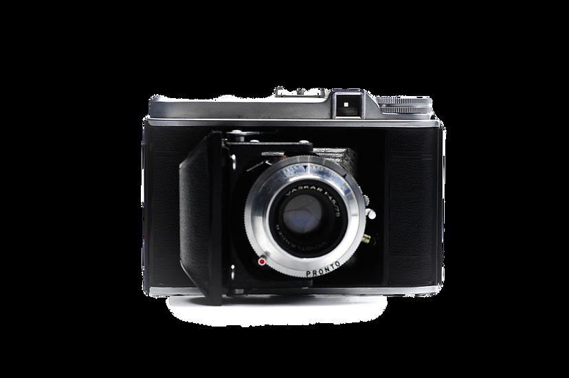 Voigtlander Perkeo Folding Medium Format Film Camera