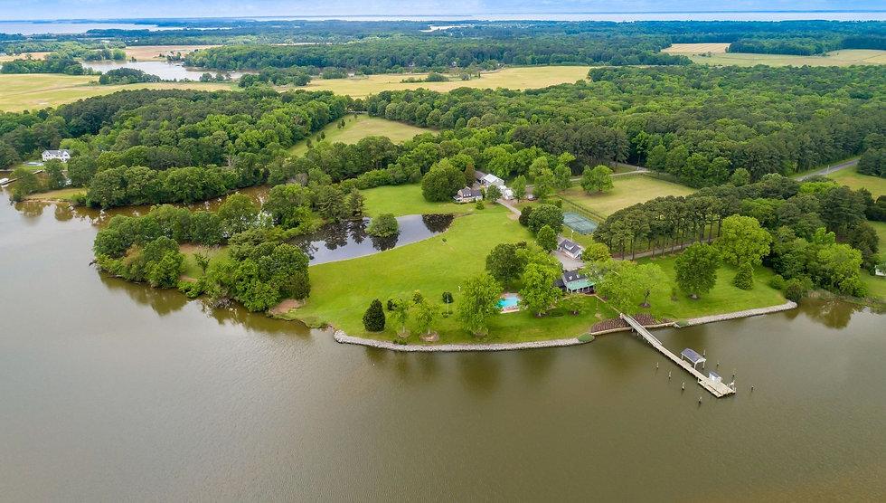 Kimbolton estate farm waterfront property Maryland