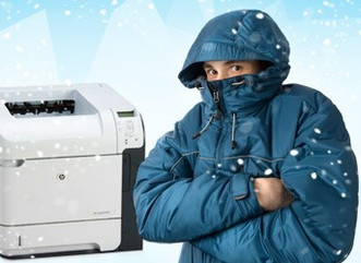 If You're Cold –Your Printer May Be Too! How To Survive The Winter And Get Peak Performance From You