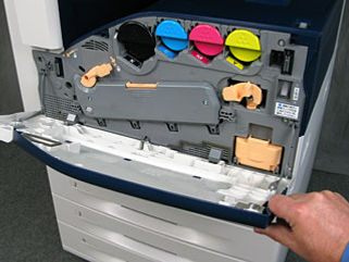 How To Replace the Xerox Transfer Belt Cleaner