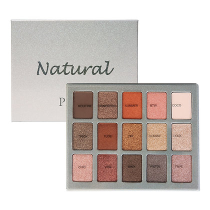 PROFUSION 15 COLOUR EYESHADOW - NATURAL