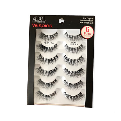 ARDELL DEMI WISPIES 6 PAIRS PACK