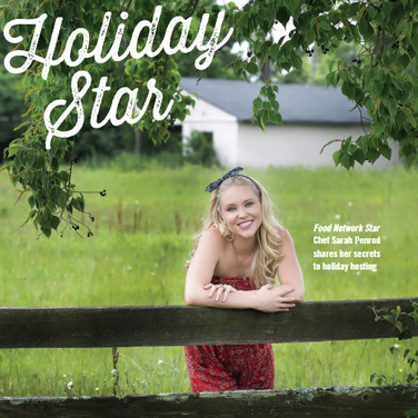 Holiday Star: Food Network Star Chef Sarah Penrod Shares Her Secrets to Holiday Hosting
