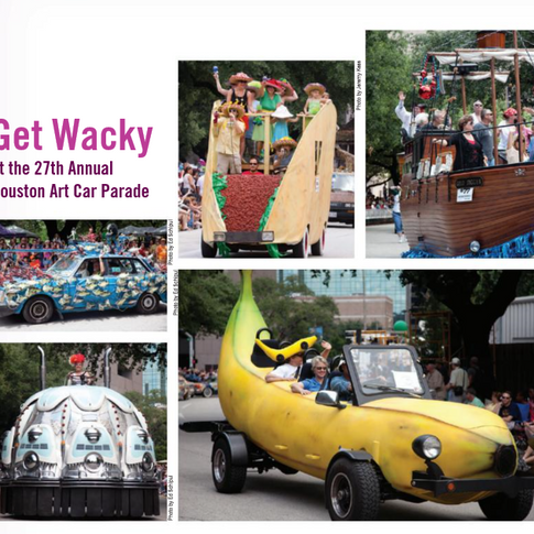 Get Wacky at the Art Car Parade
