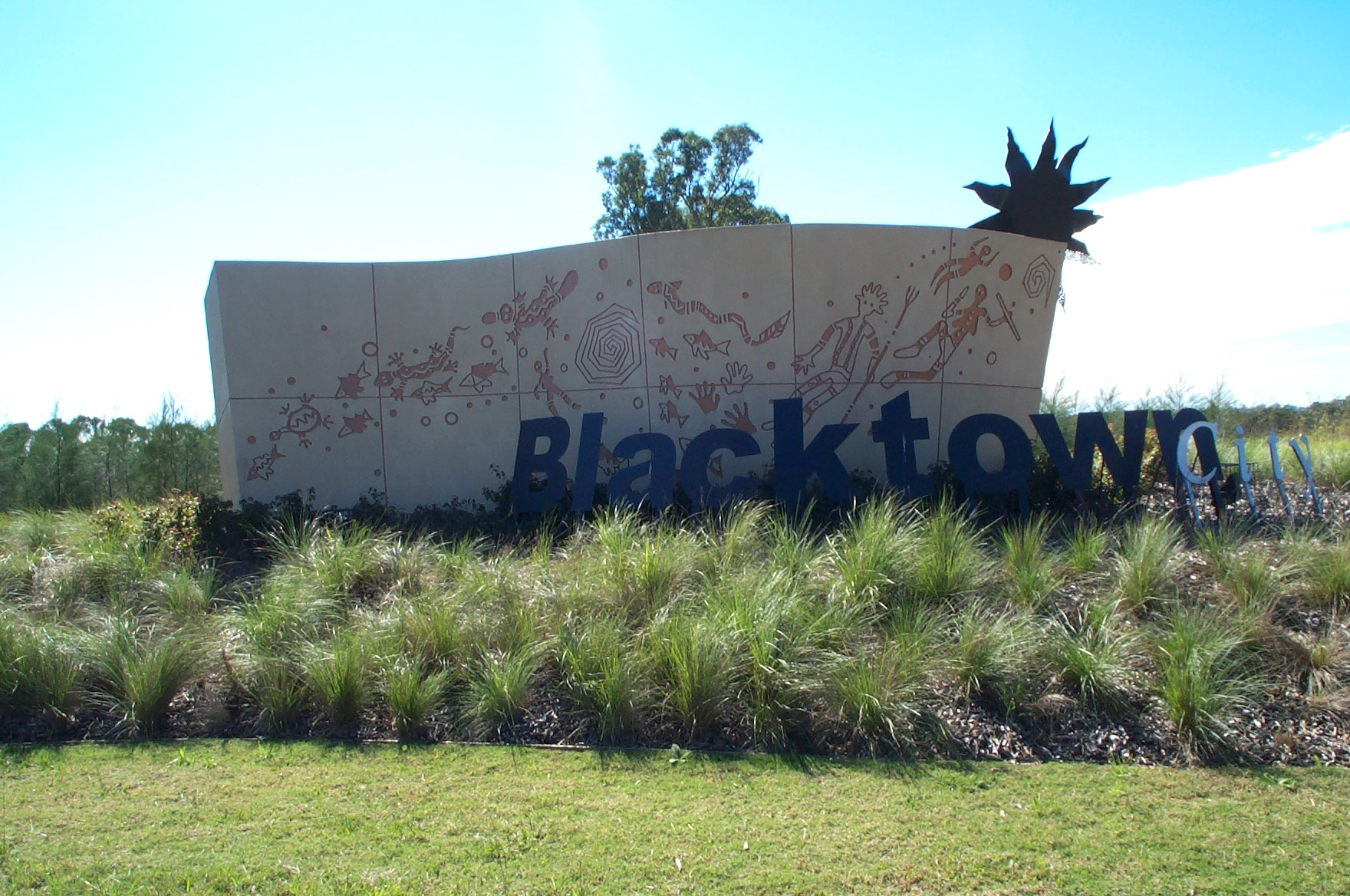 RTA Blacktown Wall
