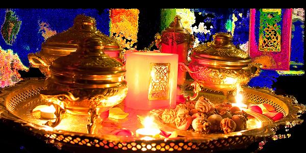 Μαροκινό Τσάι και γλυκίσματα