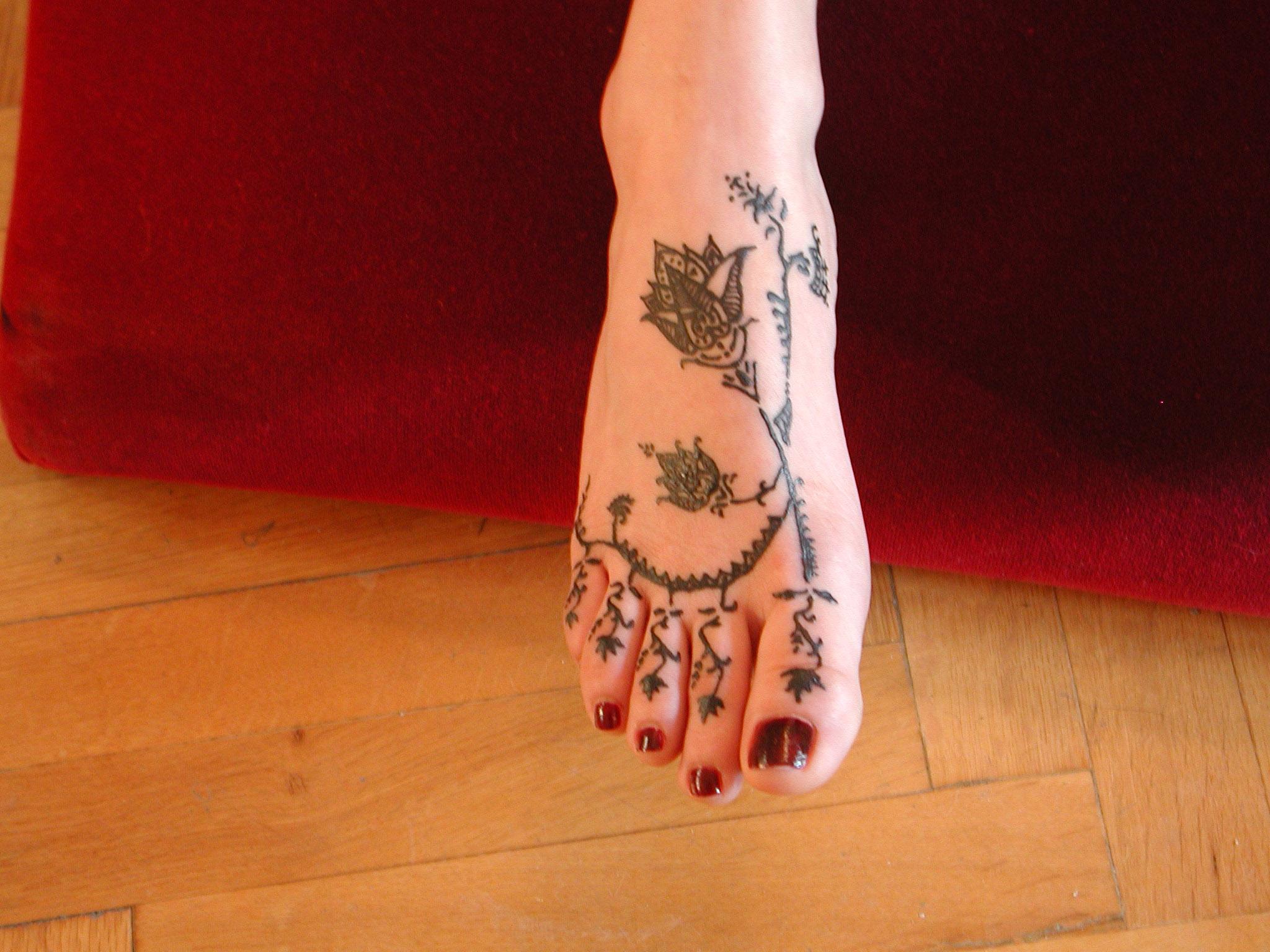 Τατουάζ Μαύρης Χένας