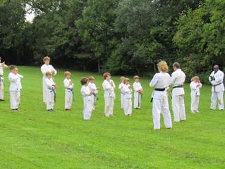 Seido Karate Somerset's Children's Summer Camp
