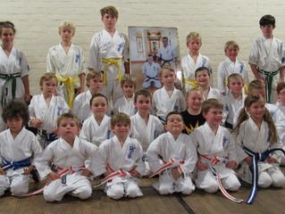 Seido Karate Somerset's Little Seidos Grading