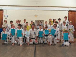 Seido Karate Somerset's Grading