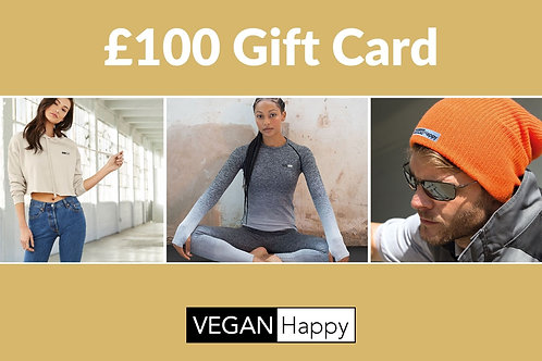 VEGAN Happy - GIFT CARD £100