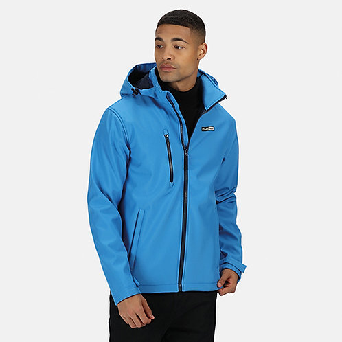 Vegan Men's Venturer 3-layer Hooded Softshell in 6 colours from Vegan Happy Clothing