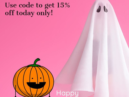 HALLOWEEN SUPER SALE!