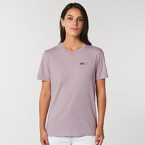 Vegan Creator Unisex Vintage T-Shirt with subtle logo from Vegan Happy Clothing