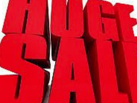 MEGA SALE NOW ON!