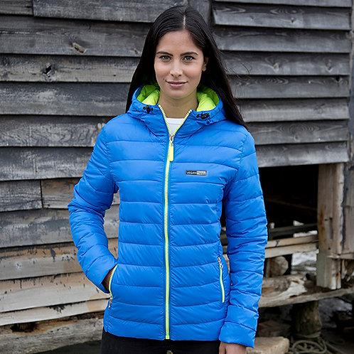 Vegan Puffa jacket women's urban snow bird from Vegan Happy Clothing