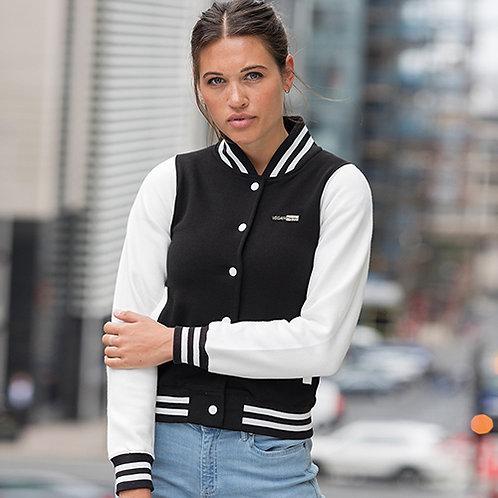Vegan Women's Varsity Jacket