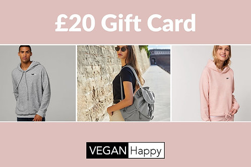VEGAN Happy - GIFT CARD £20
