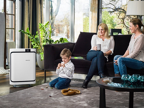 Air Purifier Boneco P500 Air Purifier from Bright Air in white for larger rooms and living spaces