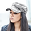 Vegan Cap camouflage cap in 100% cotton for women with subtle vegan logo from Vegan Happy Clothing