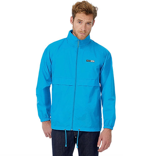 Vegan Men's Sirocco Lightweight Jacket with subtle vegan logo from Vegan Happy Clothing