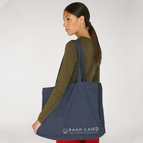 Woven Large Shopping Bag