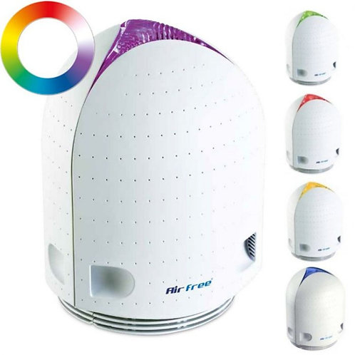 Air Purifier Airfree Iris for rooms up to 60m2 from Bright Air with colour changing mood lights