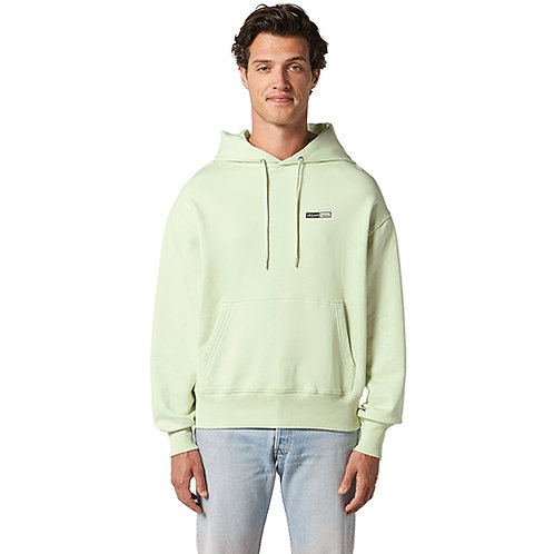 Vegan oversized hoodie slammer in 11 colours with subtle vegan logo by Vegan Happy Clothing