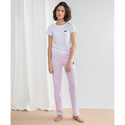 Vegan Pyjamas Loungewear Long Set VEGAN Happy loungewear Long Pant Pyjama Set with subtle Logo design