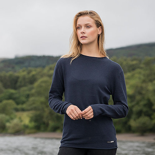 Vegan jumper ecologie regen unisex with subtle vegan logo from Vegan Happy Clothing in 4 colours
