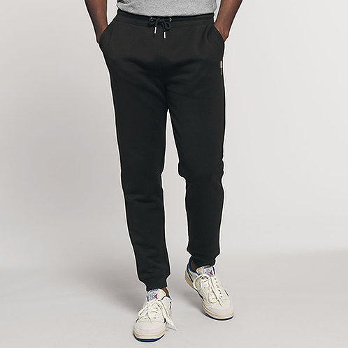 Vegan men's joggers, Stanley Mover with embroidered vegan logo from Vegan Happy Clothing