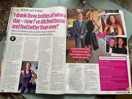 WOW! Lorri in CLOSER Magazine... out today!