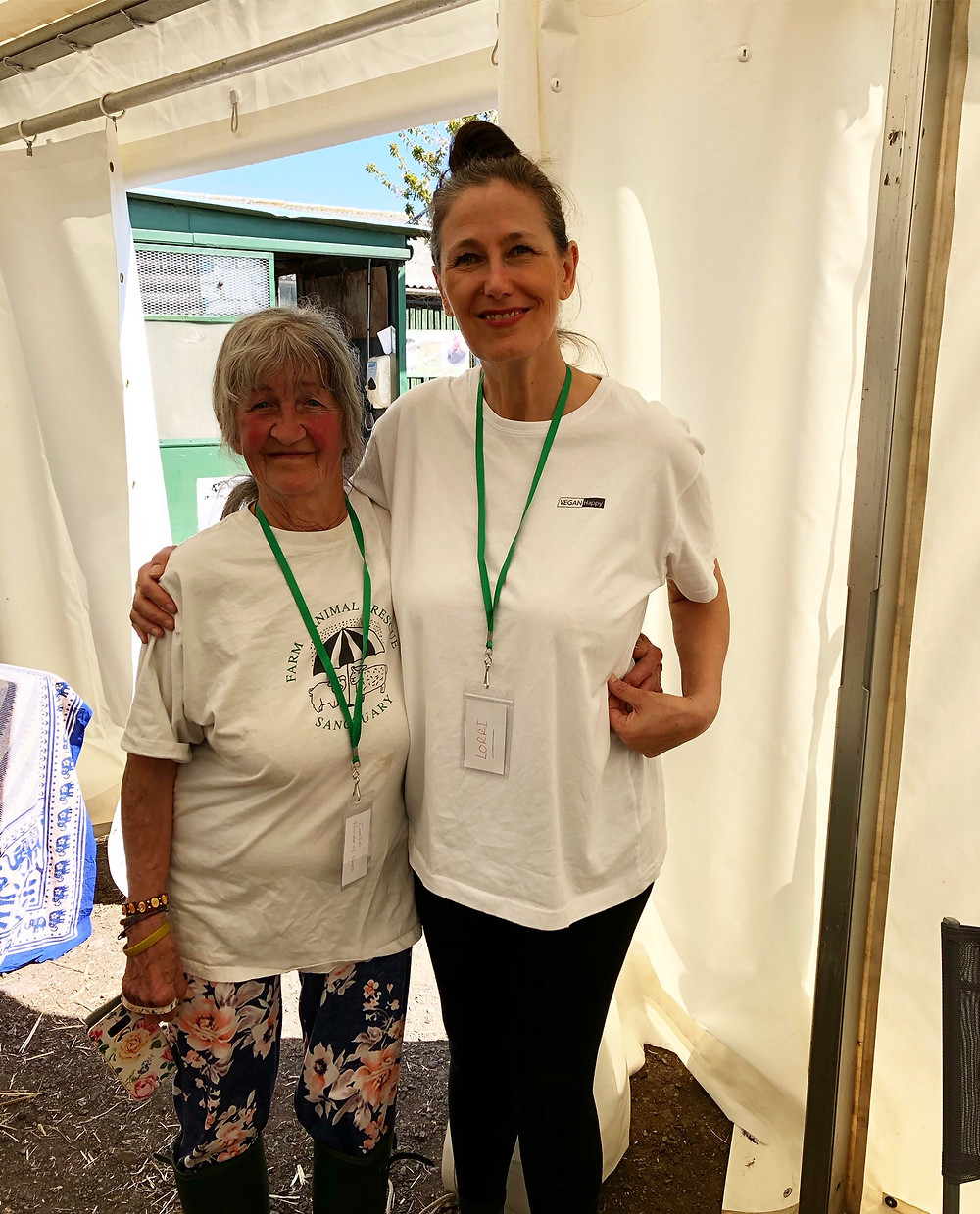 Carole Webb, Lorri Delahunty, Farm Animal Rescue Sanctuary, Easter Open Day 2019