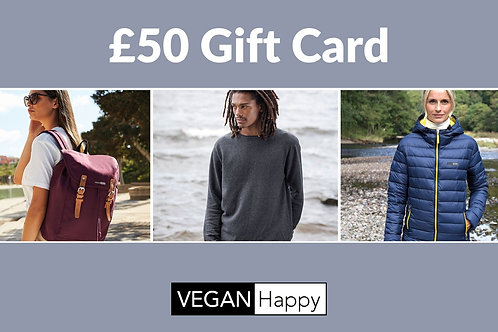 VEGAN Happy - GIFT CARD £50