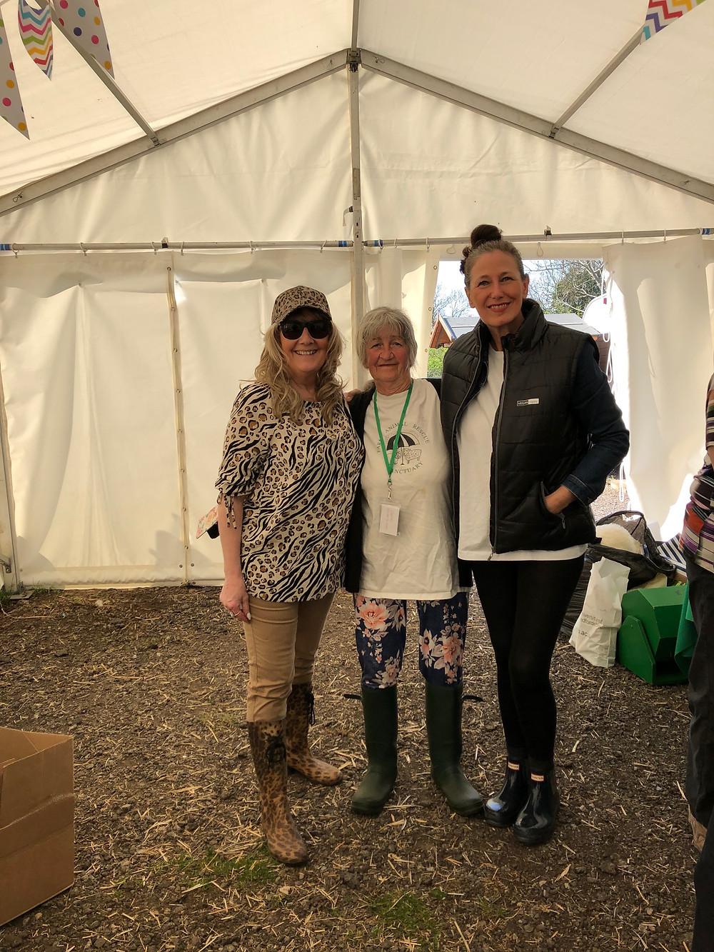 Sharon Bull, Carole Webb, Lorri Delahunty, FARS, Easter Open Day 2019