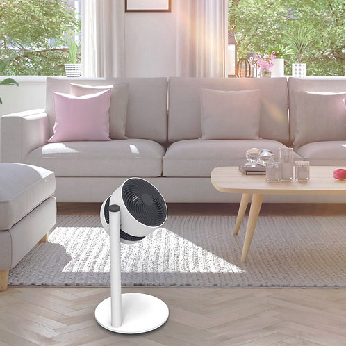 Boneco F120 Airshower Fan bedroom from bright air