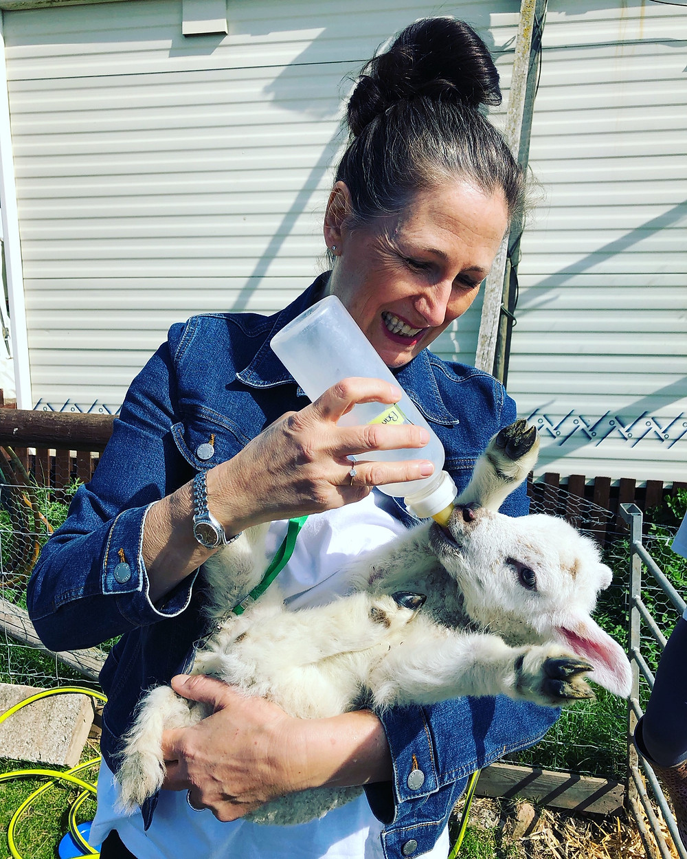 Lorri Delahunty, Farm Animal Rescue Sanctuary, Easter 2019