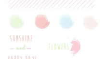 GRAPHIC ELEMENTS: SPRING STROKES & PASTEL PALETTES