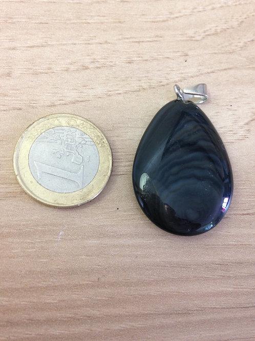 Pendentif Obsidienne