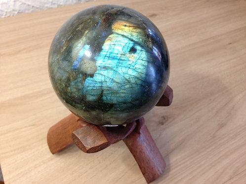 Sphère de Labradorite