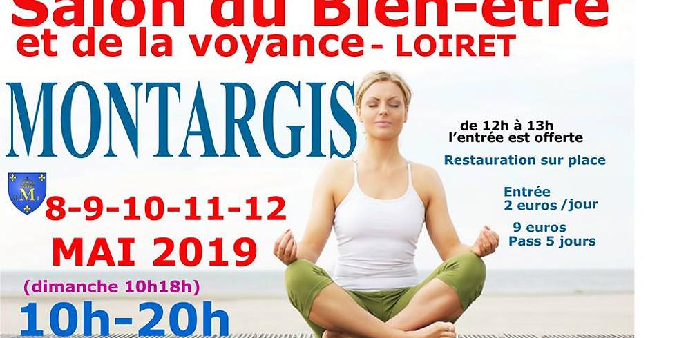 Salon du Bien-Etre de Montargis 8-12 mai