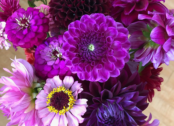 Mid-Summer Market Bouquet Share