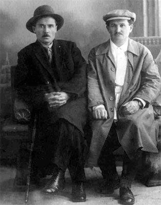 Г.Ибрагимов и Ш.Ахмадеев в Ялте. 1928 г.