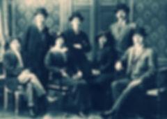 Rämievlär ğailäse Aurupa buylap säyäxät itkändä. 1914. Zakir (Därdmänd) Rämiev, İskändär Rämievlär