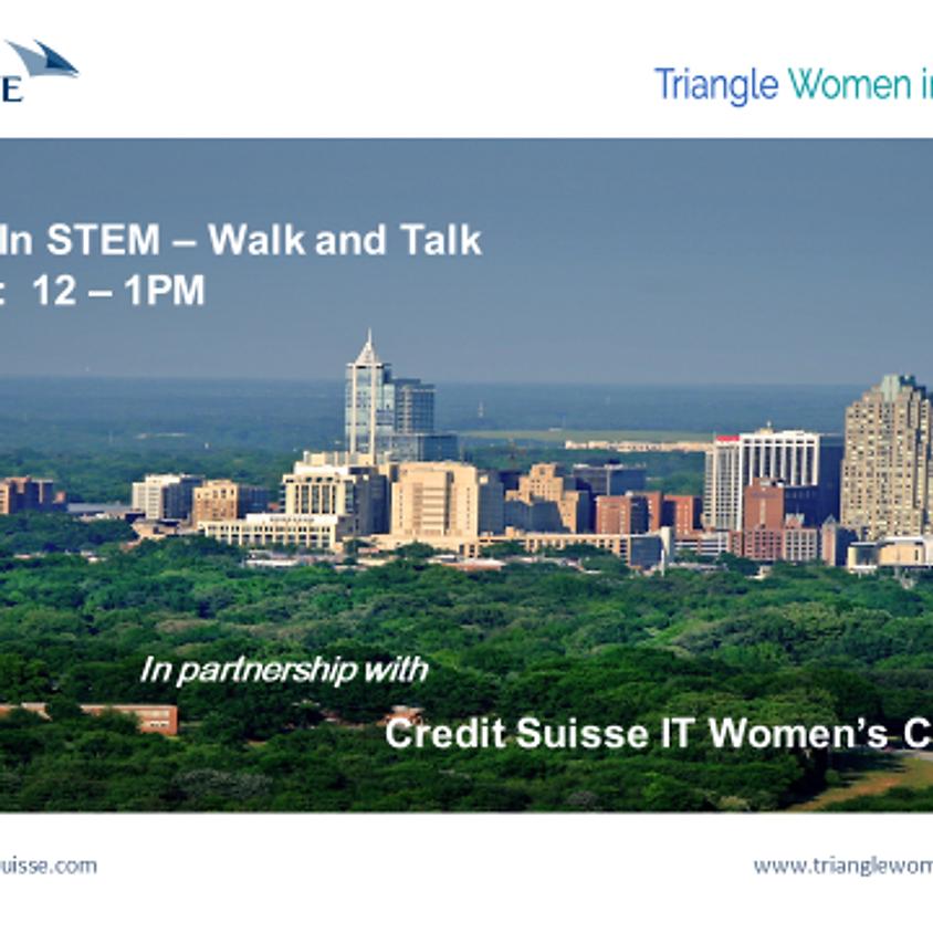 TriWISTEM Walk and Talk Event