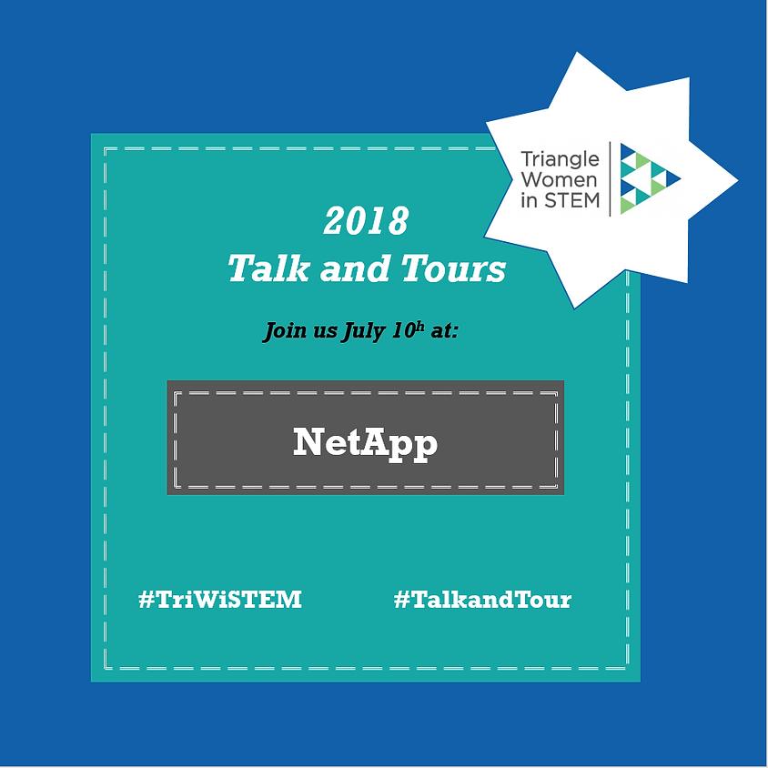 Talk and Tour - NetApp