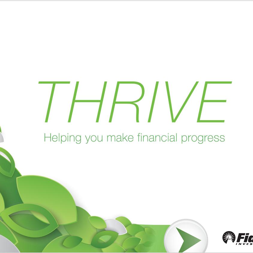 TriWiSTEM Career Series - Thrive: Helping you make financial progress