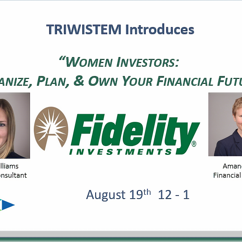 Women Investors: Organize, Plan and Own Your Future