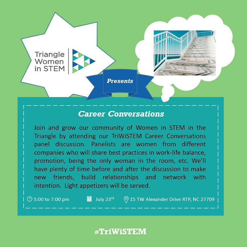 Triangle WiSTEM Career Conversations