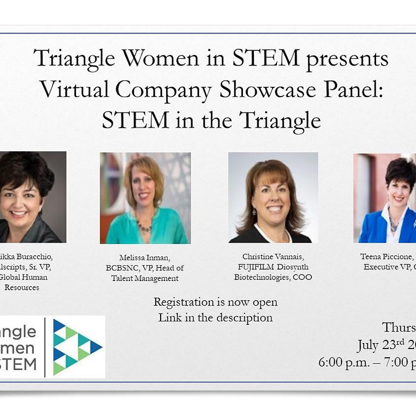 Virtual Company Showcase Panel